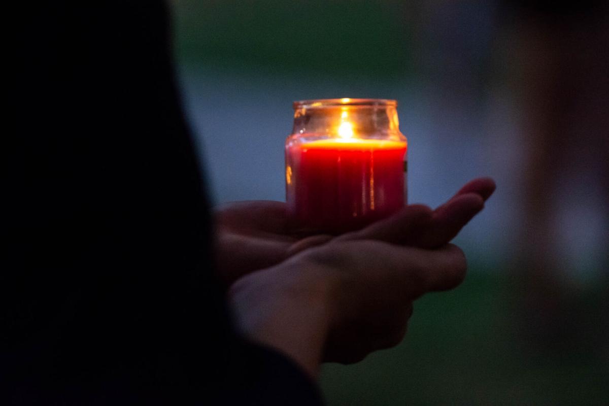 RBG candle