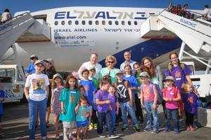 More than 200 North Americans make aliyah on Fourth of July
