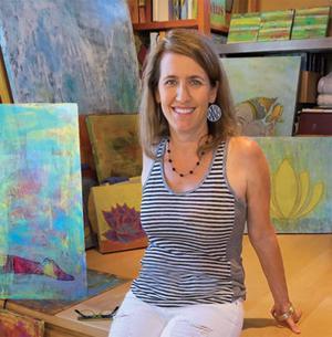 Artist Sara Becker