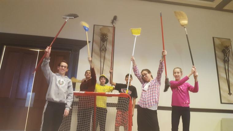 CTeen broom ball