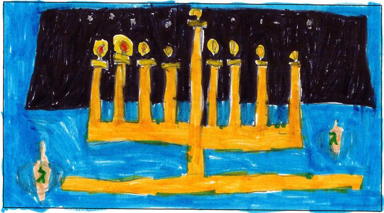 Moshe Weiss, age 9, Torah Day School of Phoenix