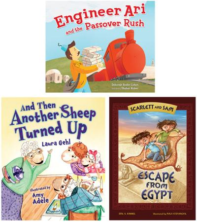 Kids' books for Passover