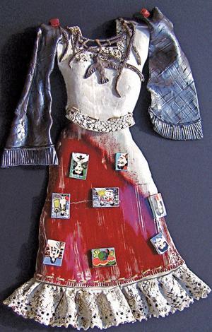 Ceramic costume Frida Kahlo