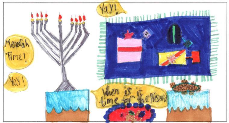 Chaya Lipskier, age 9, Cheder Lubavitch of Arizona