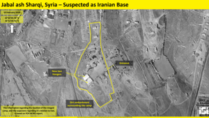 Satellite images indicate Iran is building another missile site in Syria