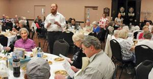 Senior Shabbat dinner
