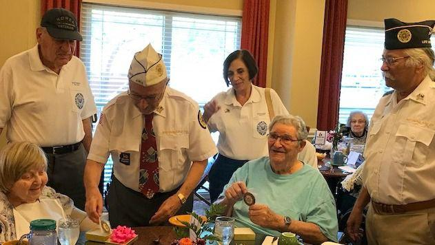 Jewish War Veterans honor couple