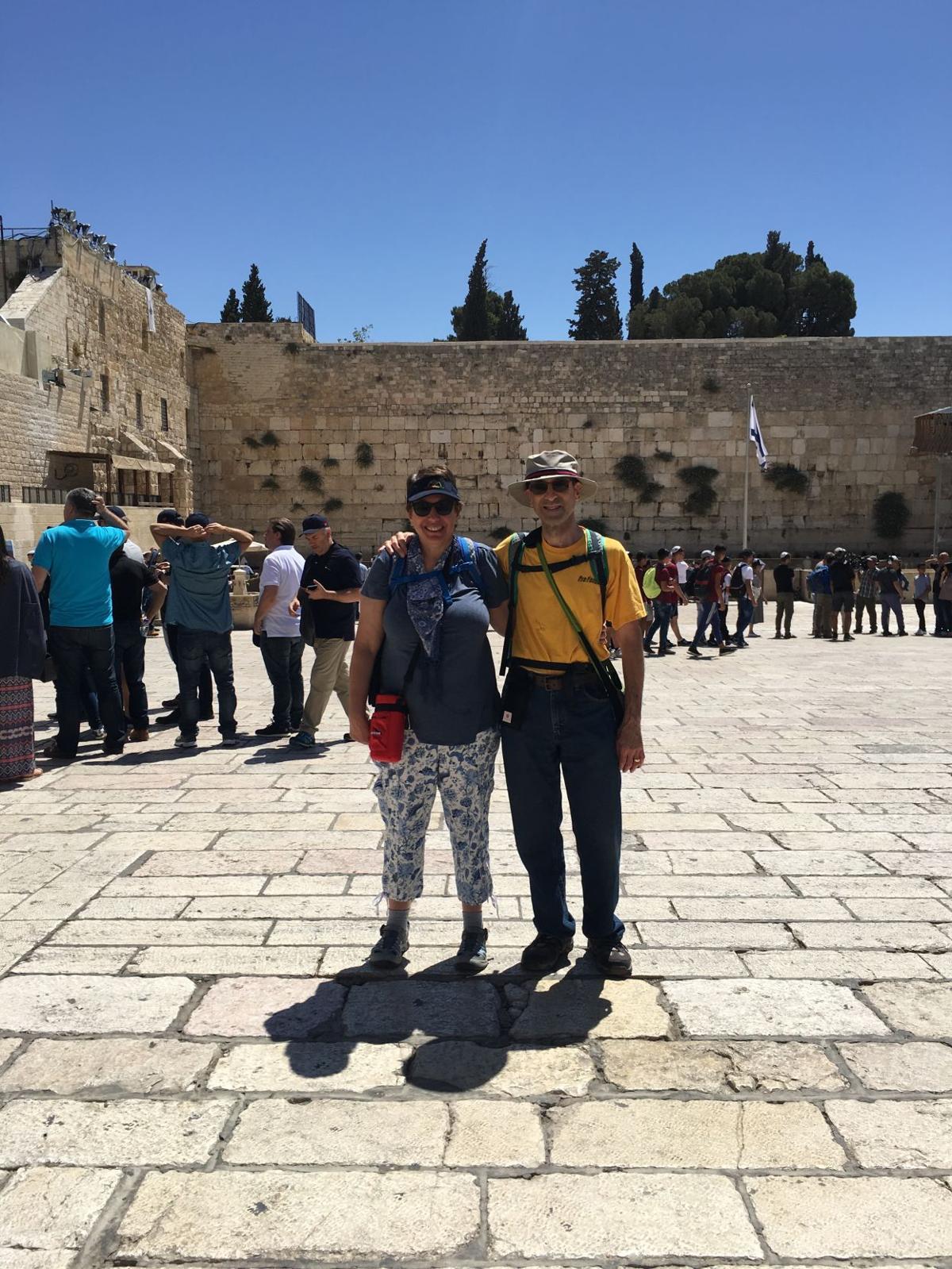First Israel visit