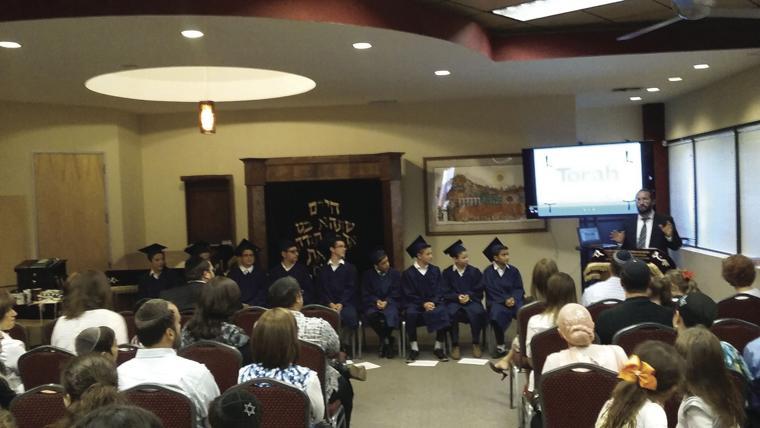 Graduation day: boys