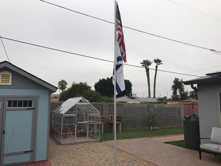 Shalom Home Backyard