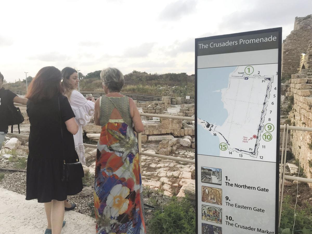 Crusaders' promenade