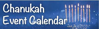 Chanukah Event Calendar