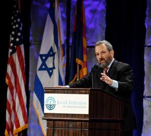 Ehud Barak: Mega Israel