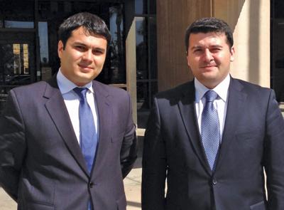 The Azerbaijani delegation to Arizona