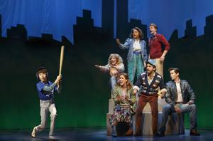 On stage with 'Falsettos'