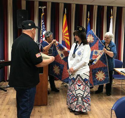 Quilt of Valor honor