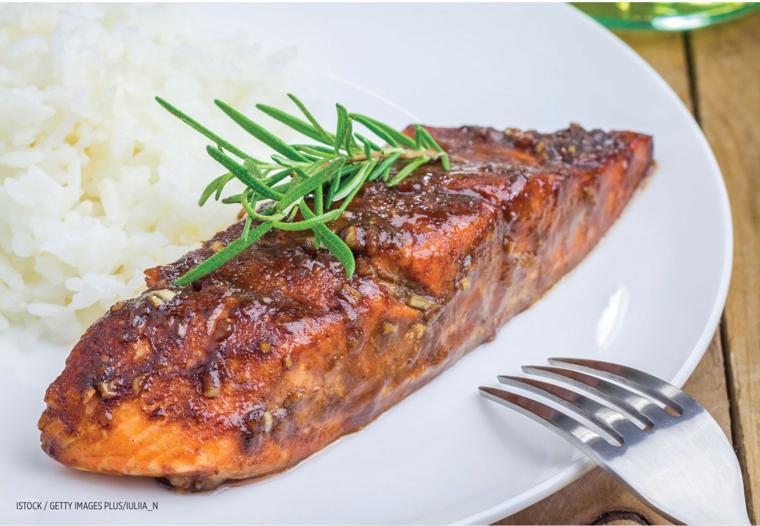 Rosh Hashanah Salmon