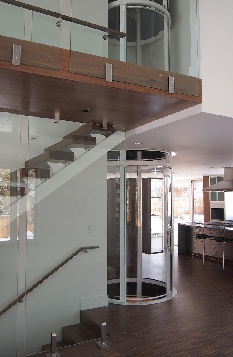 Round Residential Elevator