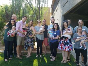Babies reunite