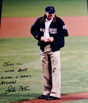 McCain First Pitch
