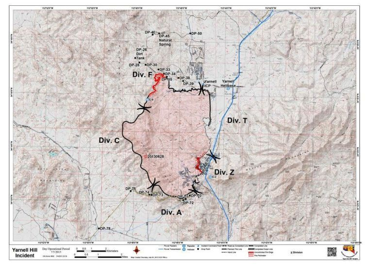 Yarnell Hill Fire At 80 Percent Containment Community Jewishaz Com
