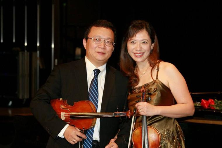 Violin Concert Couple