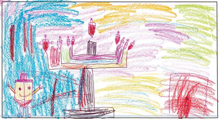 Rochel Friedman, age 7, Torah Day School of Phoenix