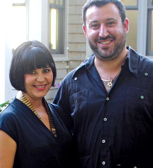 Rebecca Light and Josh Wertlieb