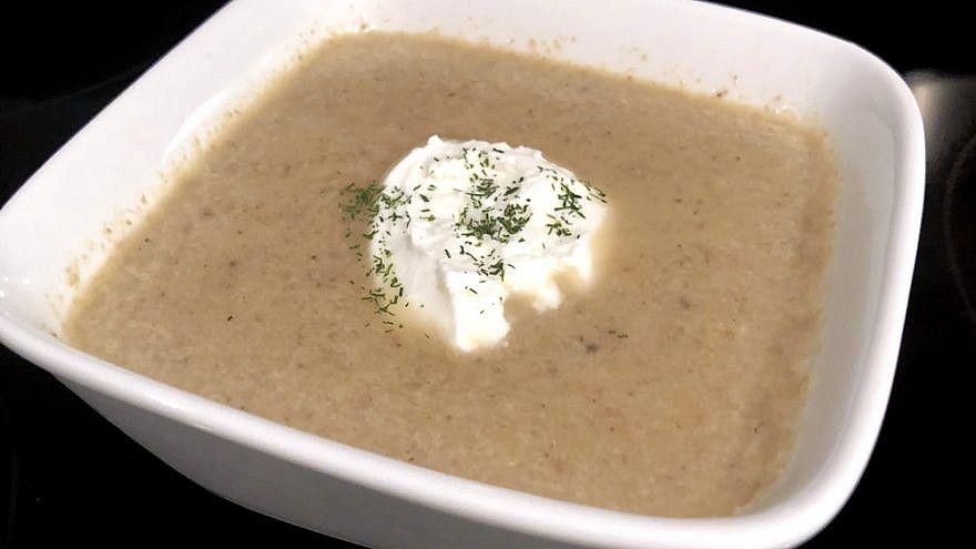 Ophra's mushroom soup
