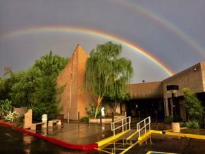 A rainbow, a blessing and a covenant to be peacemakers