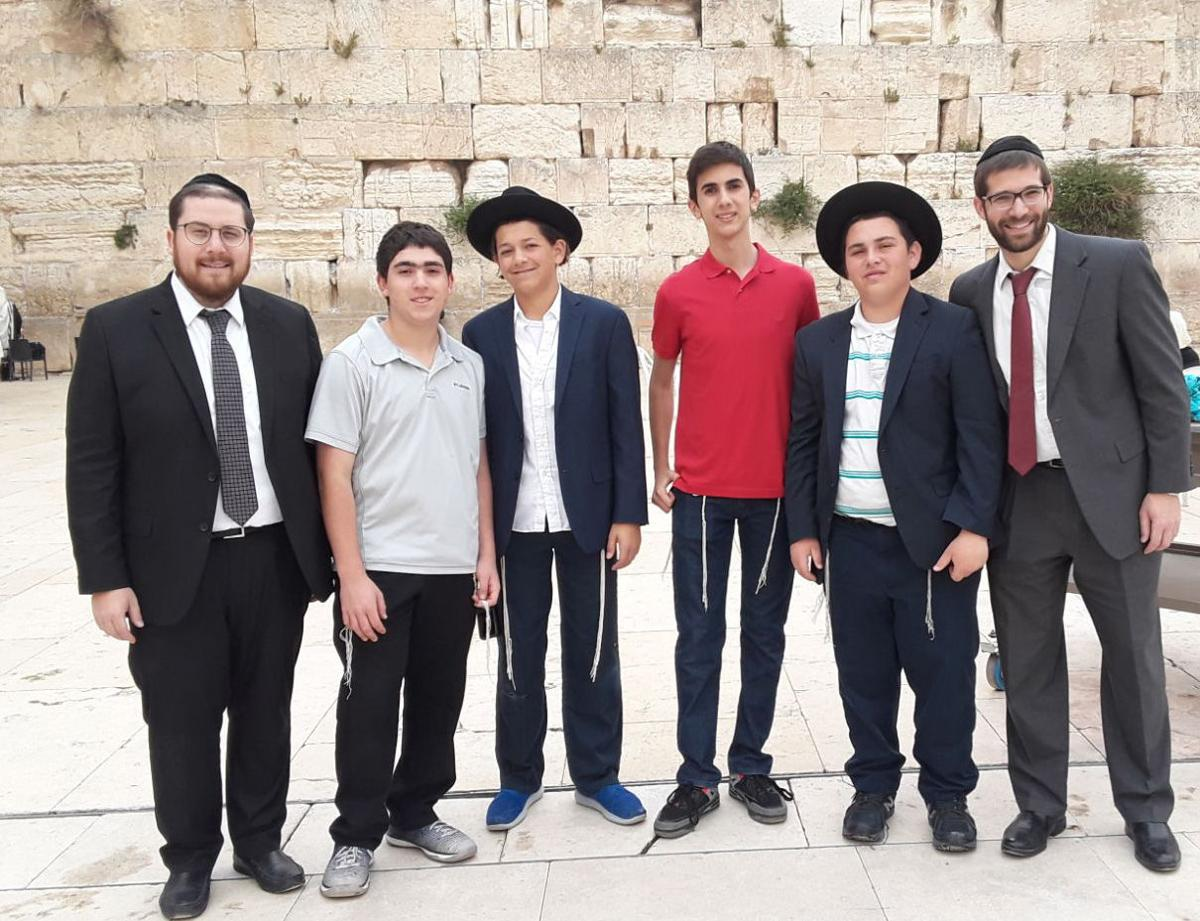 Israel graduation trip