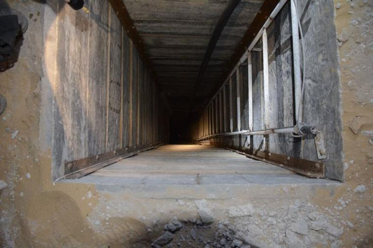Hamas Tunnel Destroyed