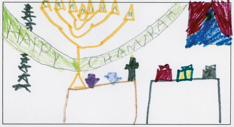 Sarah Melkin, age 7, Beth El Talmud Torah