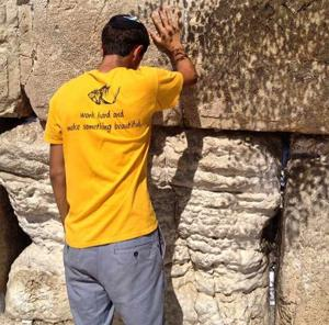 Noah Silver visits the Kotel