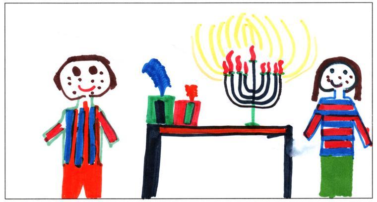 Moshe Dovid Margolin, age 8, Cheder Lubavitch of Arizona