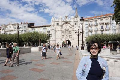 Walking Burgos