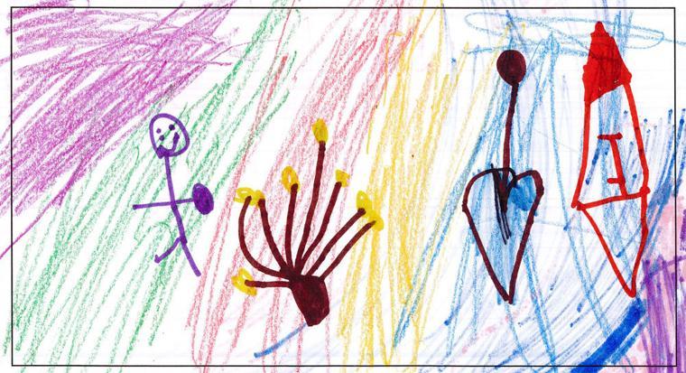Tova Glaser, age 5, Torah Day School of Phoenix