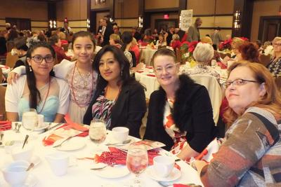 <p>Guests of all ages enjoyed Duet's Poinsettia Tea fundraiser last year. The annual event brings parents, children and grandparents out to support the organization.</p>