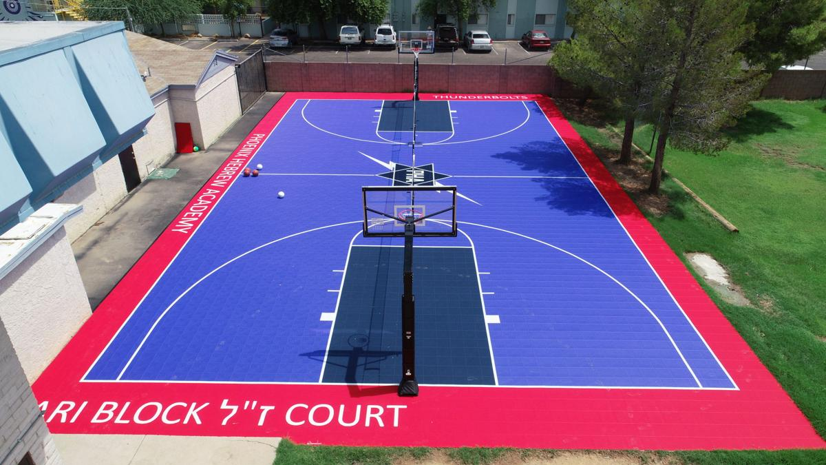 Hitting the court