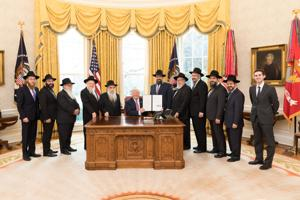 Local Chabad leader joins Trump in honoring Lubavitcher Rebbe