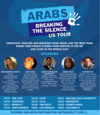"<p>A flyer for the ""Arab Breaking the Silence"" tour.</p>"