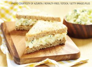 Watercress Tea Sandwiches / Dairy