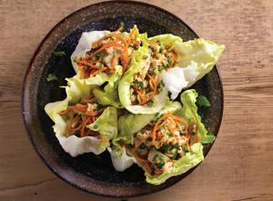 Hoisin Chicken Lettuce Wraps