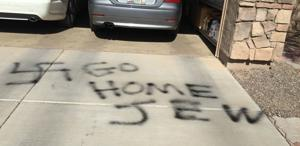 Hate on the driveway