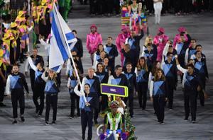 Israel's flagbearer