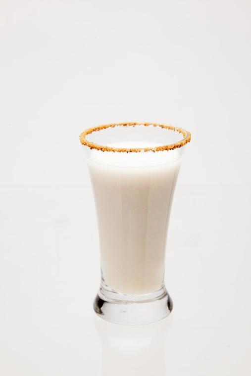 Spiced Spiked Almond Milk