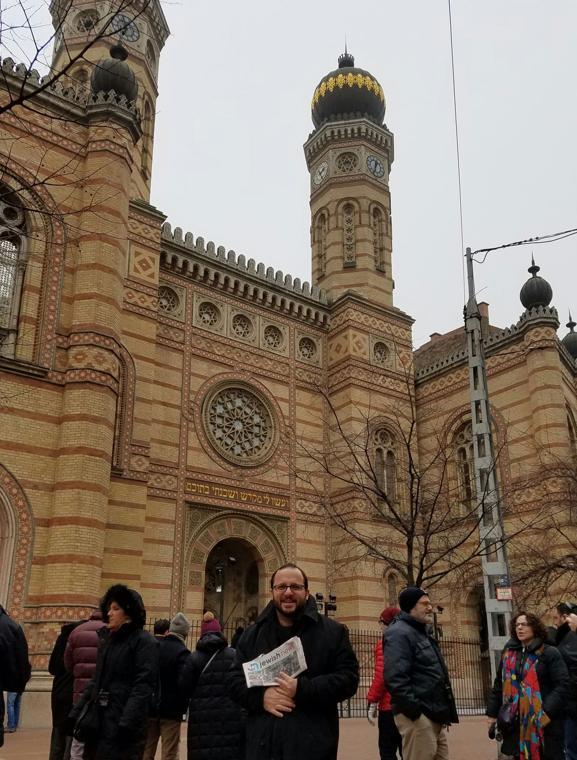 Where's your Jewish News? Budapest