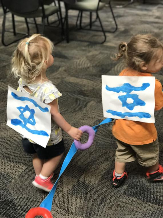 Simchat Torah for tiny tots