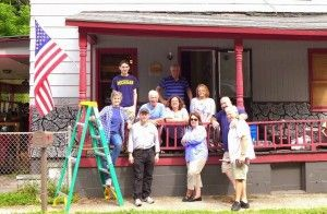 <p><span>Members of Congregation B'nai Israel in Millburn, New Jersey, work at their satellite program in McRoberts, Kentucky, with members of the Good People Fund. </span></p><p><span> </span></p>