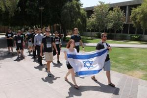 Students walk to remember